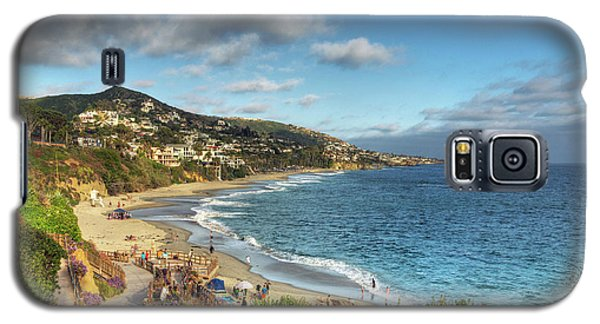 Laguna Beach Shoreline Galaxy S5 Case