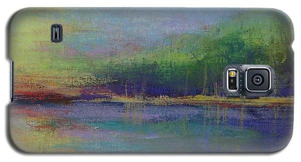 Lake At Sundown Galaxy S5 Case by Carol Berning
