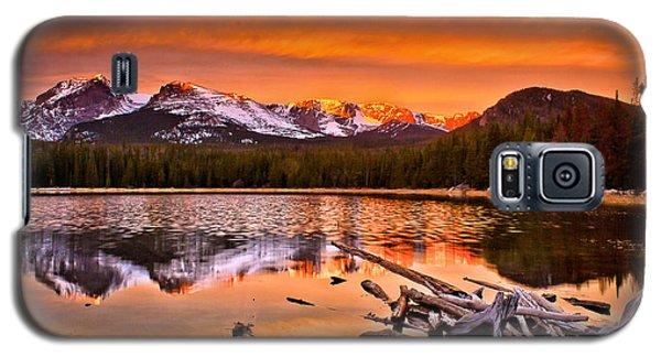 Lake Bierstadt In The Morn Galaxy S5 Case by Steven Reed
