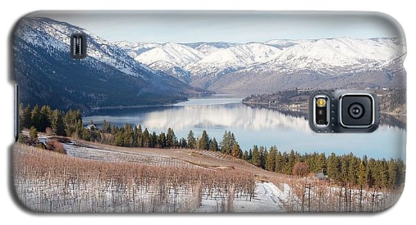 Lake Chelan In Winter Galaxy S5 Case