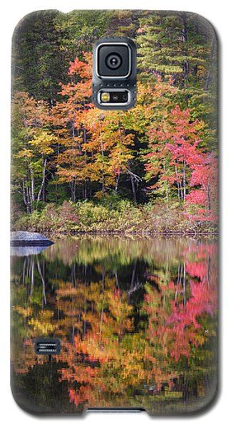 Lake Chocorua Moment Of Reflection Galaxy S5 Case by Karen Stephenson