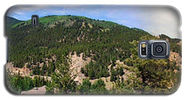 Lake City Colorado Mountain Range Galaxy S5 Case by Max Mullins