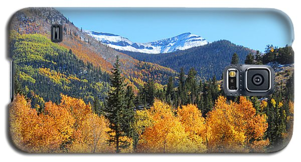 Lake City In The Fall Galaxy S5 Case