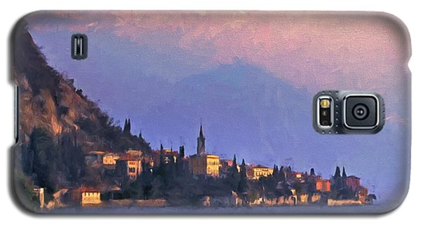 Galaxy S5 Case featuring the painting Lake Como Italy by Douglas MooreZart