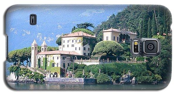 Lake Como Palace Galaxy S5 Case