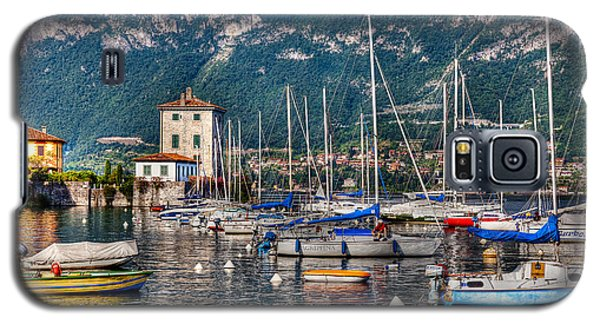 Galaxy S5 Case featuring the photograph Lake Como by Uri Baruch