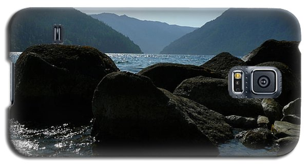 Galaxy S5 Case featuring the photograph Lake Crescent by Jane Ford