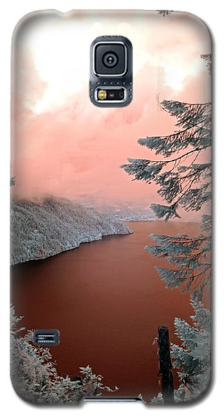 Lake Crescent Light Galaxy S5 Case