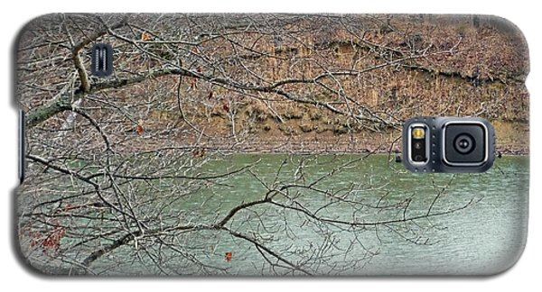 Lake Dunn In Winter Galaxy S5 Case