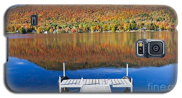 Lake Elmore Autumn Galaxy S5 Case