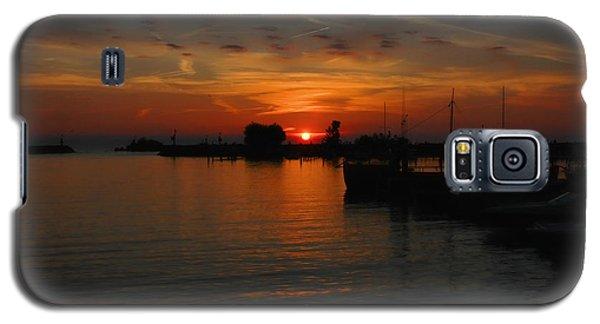 Lake Erie Sunset Galaxy S5 Case