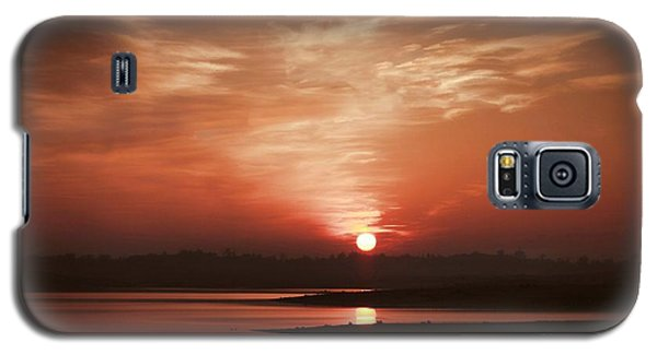 Galaxy S5 Case featuring the photograph Lake Folsom California Sunset by Polly Peacock