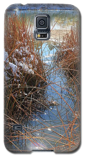 Galaxy S5 Case featuring the photograph Lake Glitter by Diane Alexander