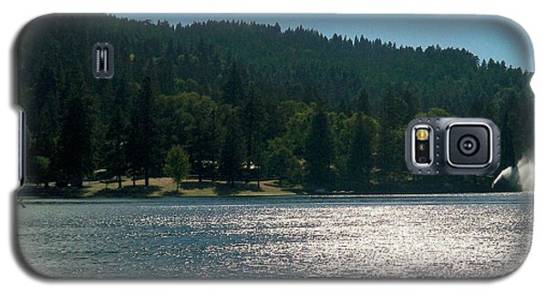 Scenic Lake Photography In Crestline California At Lake Gregory Galaxy S5 Case