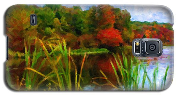 Lake In Early Fall Galaxy S5 Case
