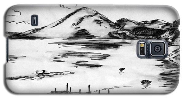 Lake In Guatemala Galaxy S5 Case