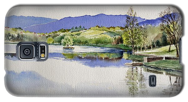 Lake In Tuscany Galaxy S5 Case