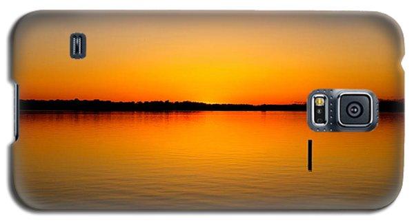Lake Independence Sunset Galaxy S5 Case