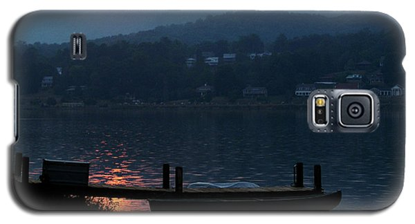 Galaxy S5 Case featuring the photograph Lake J Sunset by Craig T Burgwardt