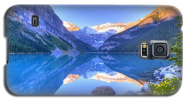 Lake Louise Galaxy S5 Case by Wanda Krack