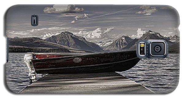 Galaxy S5 Case featuring the photograph Lake Mcdonald by Ellen Heaverlo