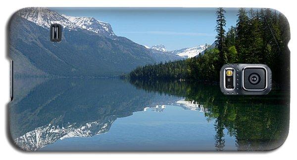 Lake Mcdonald - Glacier National Park Galaxy S5 Case by Lucinda Walter