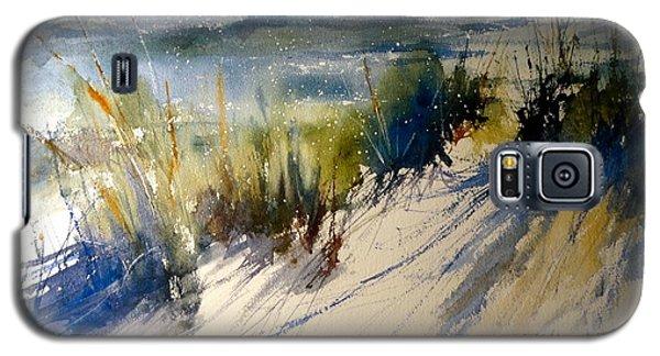 Lake Michigan October Galaxy S5 Case by Sandra Strohschein