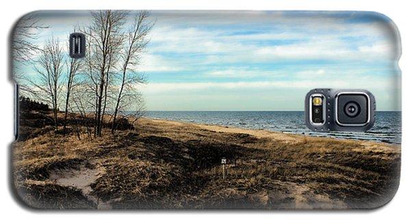 Galaxy S5 Case featuring the photograph Lake Michigan Shoreline by Lauren Radke