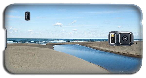 Lake Michigan Waterway  Galaxy S5 Case by Verana Stark
