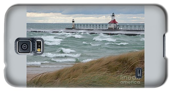 Lake Michigan Winds Galaxy S5 Case by Ann Horn
