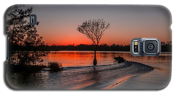 Galaxy S5 Case featuring the photograph Lake Moultrie by RC Pics