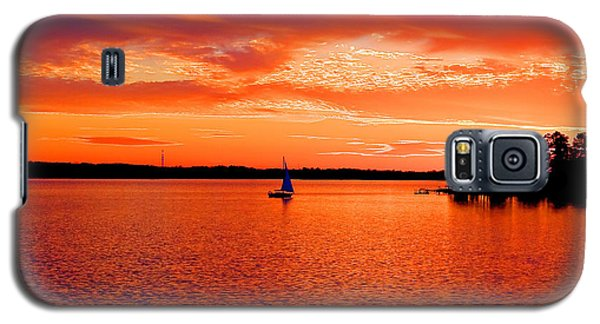 Lake Murray Sunset Galaxy S5 Case