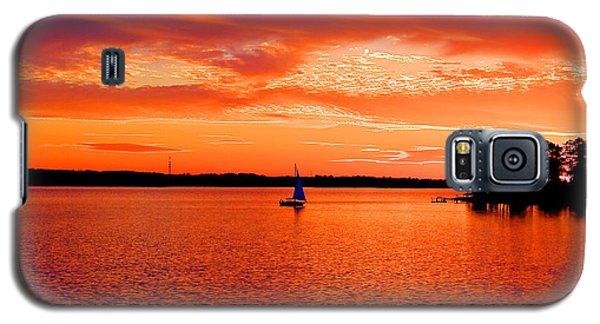 Lake Murray Sunset Galaxy S5 Case