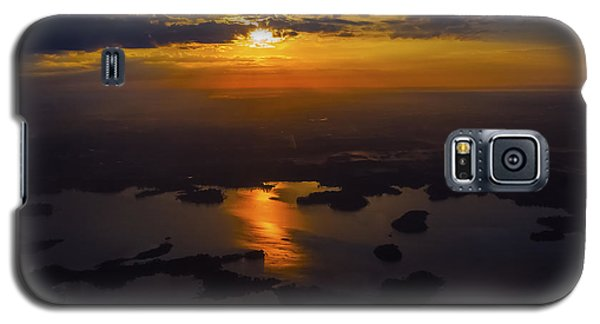 Lake Norman Sunrise Galaxy S5 Case by Greg Reed