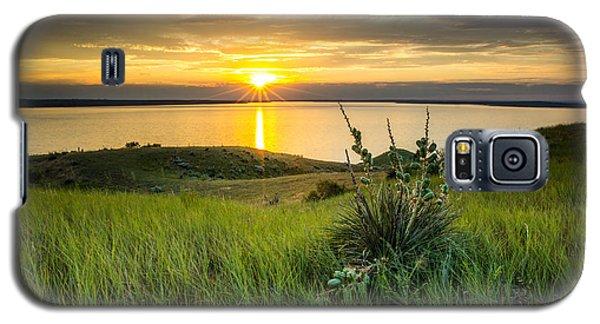 Lake Oahe Sunset Galaxy S5 Case