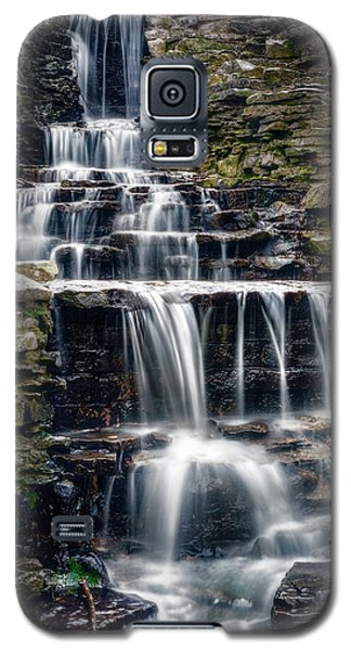 Lake Park Waterfall Galaxy S5 Case