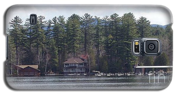 Galaxy S5 Case featuring the photograph Lake Placid Summer House by John Telfer