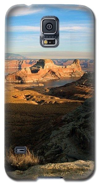 Galaxy S5 Case featuring the photograph Lake Powell From Alstrum Pt 02 by Jeff Brunton