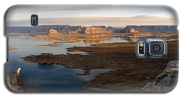 Lake Powell From Alstrum Pt Pan 2 Galaxy S5 Case by Jeff Brunton