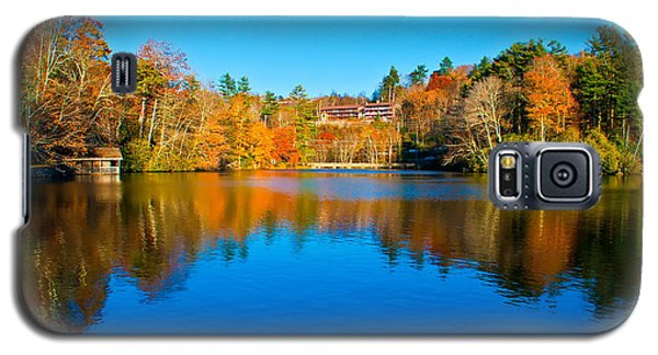 Galaxy S5 Case featuring the photograph Lake Reflections by Alex Grichenko