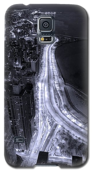 Lake Shore Drive Aerial  B And  W Galaxy S5 Case