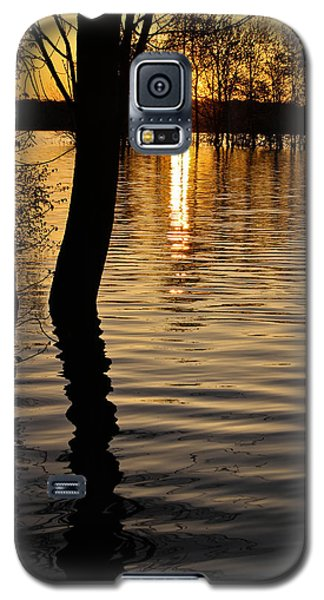 Lake Silhouettes Galaxy S5 Case by Julie Andel