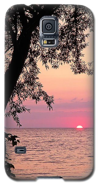 Lake Sunset Galaxy S5 Case by Aimee L Maher Photography and Art Visit ALMGallerydotcom