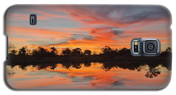 Lake Sunset Galaxy S5 Case