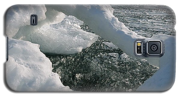 Lake Superior Ice Arch Galaxy S5 Case by Sandra Updyke