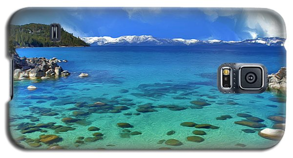 Lake Tahoe Cove Galaxy S5 Case by Dominic Piperata