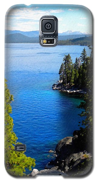 Lake Tahoe From The Rubicon Trail Galaxy S5 Case