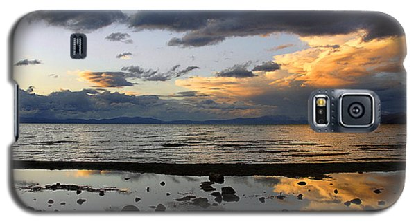 Galaxy S5 Case featuring the photograph Lake Tahoe In May by Thomas Bomstad
