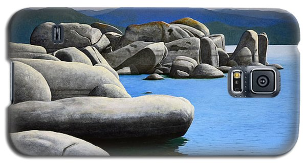 Lake Tahoe Rocky Cove Galaxy S5 Case