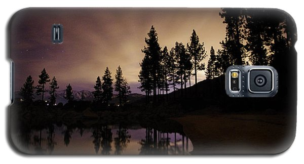Lake Tahoe Sand Harbor Silhouette Galaxy S5 Case